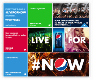 Lessons from the Success of Pepsi's #LiveForNow Digital Marketing
