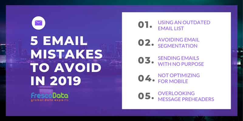 Common Email Marketing Mistakes