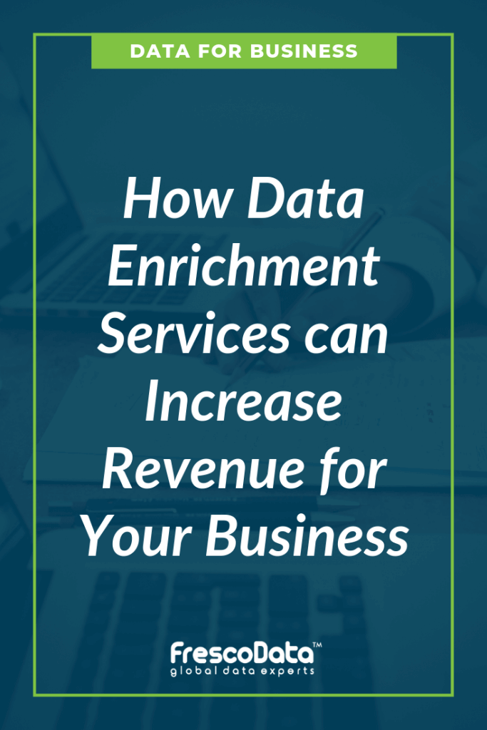 Efficient Business with Better Data