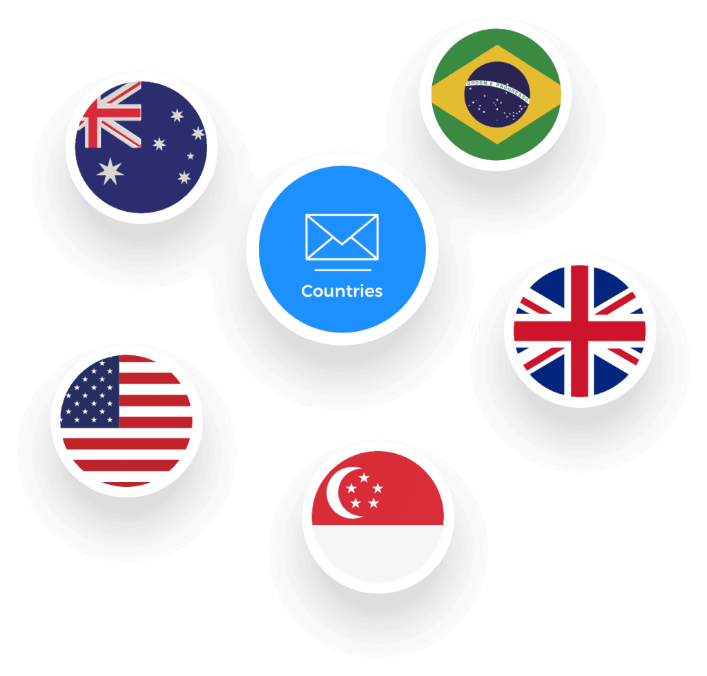 frescodata mailing lists and email lists by countries